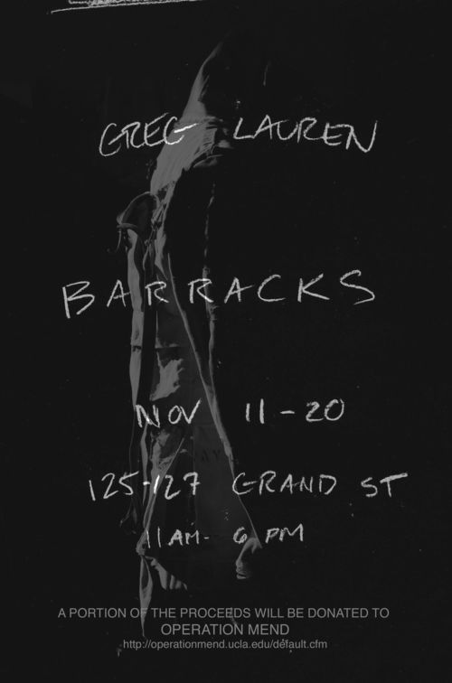 GREG LAUREN - BARRACKS