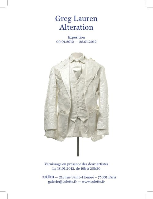 Greg Lauren Invitation:Colette
